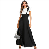 Elegant High Waist Wide Leg Jumpsuit
