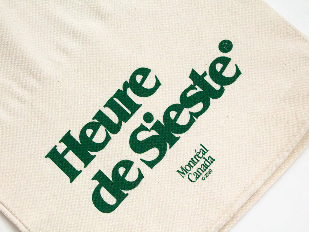 Forest Green Logo Tote