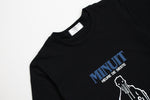 Minuit Long Sleeve Tee - Black