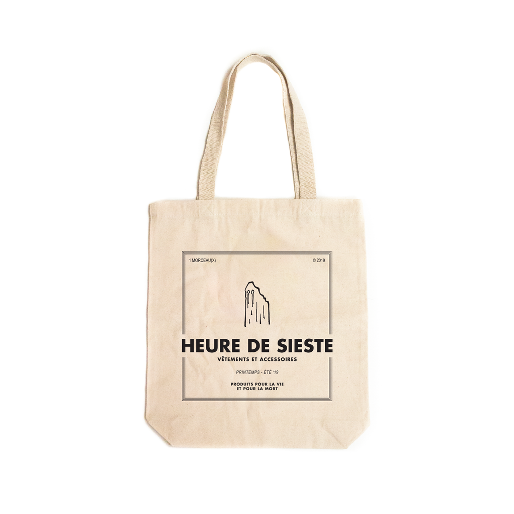 SS19 Ghost Tote Bag - Black