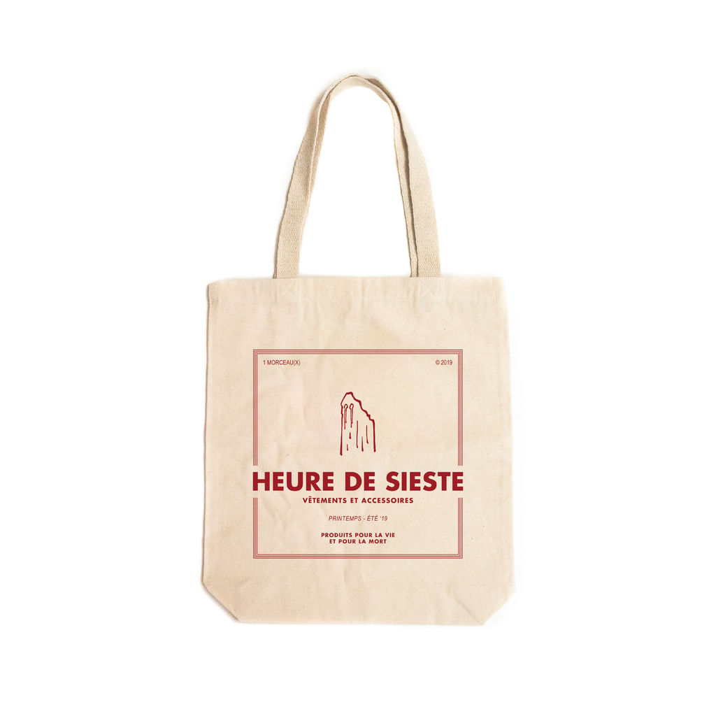 SS19 Ghost Tote Bag - Red