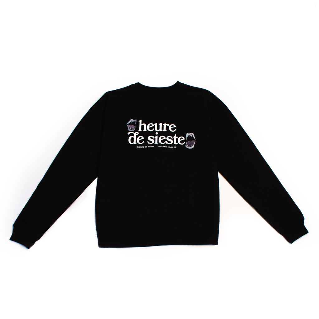 Mouths Logo Sweater - Black