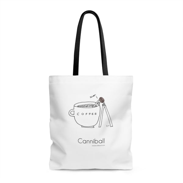 Cannibal. AOP Tote Bag