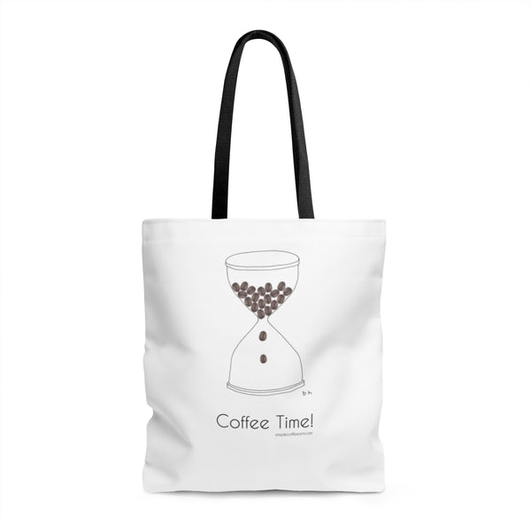 Coffee Time! AOP Tote Bag