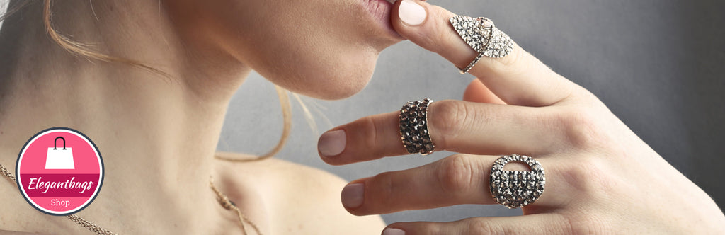 Adjustable fashion jewelry rings