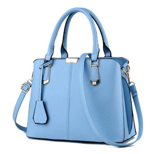 Azure Signature Versatile Top-Handle Satchel Fashion HandBag | Elegantbags.shop