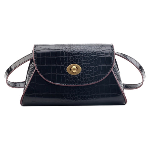 Women's Fashion Trendy Crossbody Handbag With Hasp Closure - ElegantBags.Shop