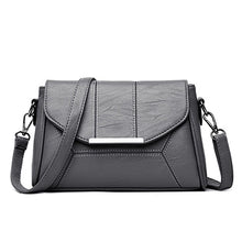 Women's Fashion High Quality Leather Messenger Handbag - ElegantBags.Shop