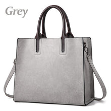 Women's Fashion Large Vintage Color Retro Commuter Handbags - ElegantBags.Shop