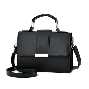 Women's Fashion Small Flap Crossbody Messenger Handbags - ElegantBags.Shop