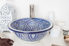 Load image into Gallery viewer, Handmade Washbasin 'Casablanca' - Medium