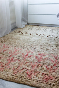 Small Berber Rug 'Faded'