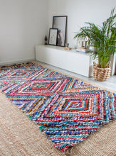 Load image into Gallery viewer, Vintage Boucherouite Rug