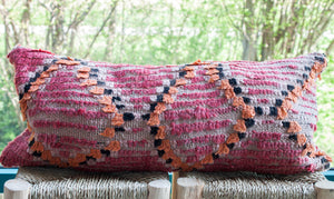 Vintage Boujad Pillow 'Peach'