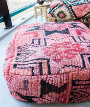Load image into Gallery viewer, Boujaad Floor Pillow 'Fashionista' - a Modern Medina