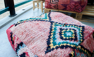 Boujaad Floor Pillow 'Gypsy' - a Modern Medina