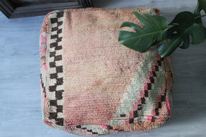 Vintage Boujad Floor Pillow 'Pastel'