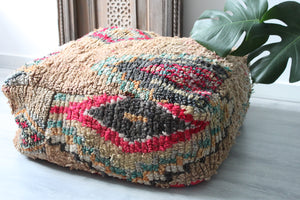 Vintage Boujad Floor Pillow 'Atlas'