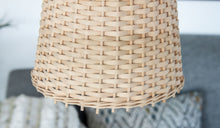 Load image into Gallery viewer, Mini Rattan Shade 'Lana' - a Modern Medina