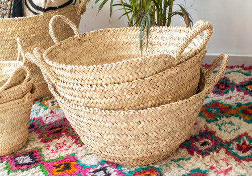 Rattan Basket - Large