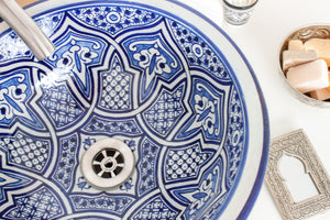 Handmade Washbasin 'Casablanca' - Medium