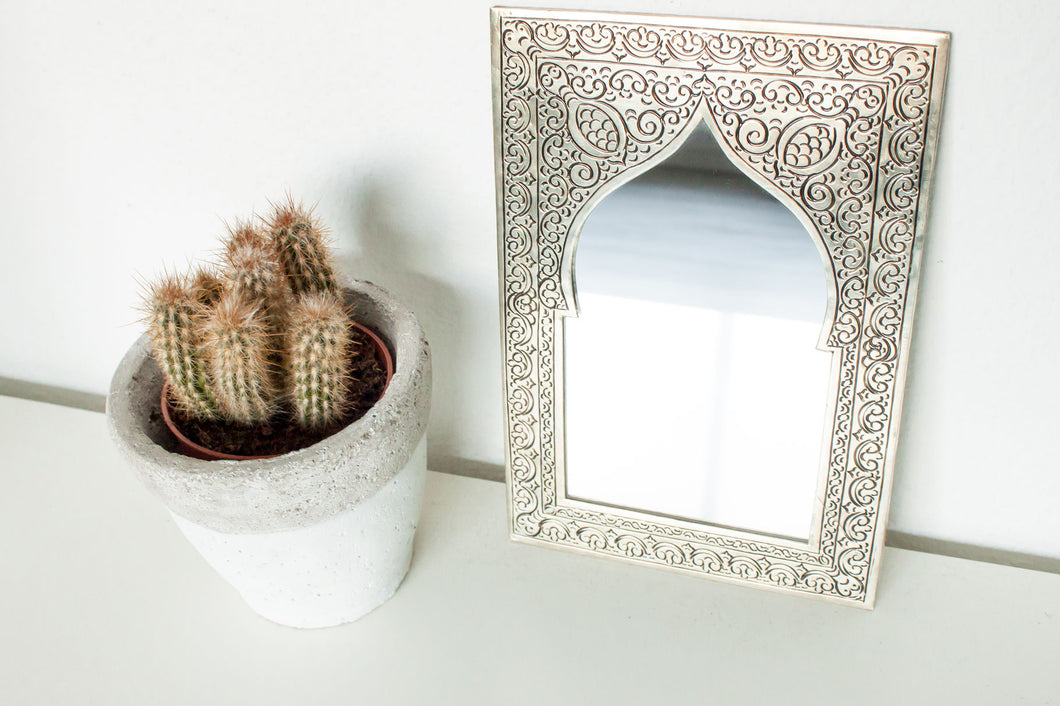 (Temporarily) Out of Stock - Handmade Mirror 'Medina' - Small - a Modern Medina