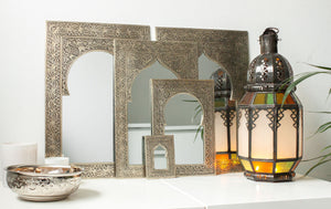 (Temporarily) Out of Stock - Handmade Mirror 'Mystery' - Small - a Modern Medina