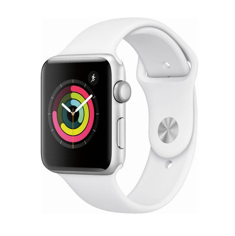 Apple Watch Series 3 GPS 42mm Plata Correa Dep Blanca
