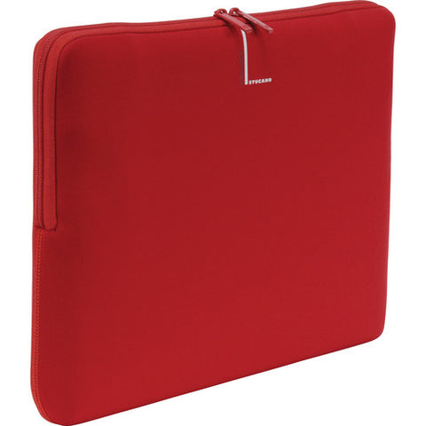 Tucano Colore Second Skin Sleeve 13 inch - Red