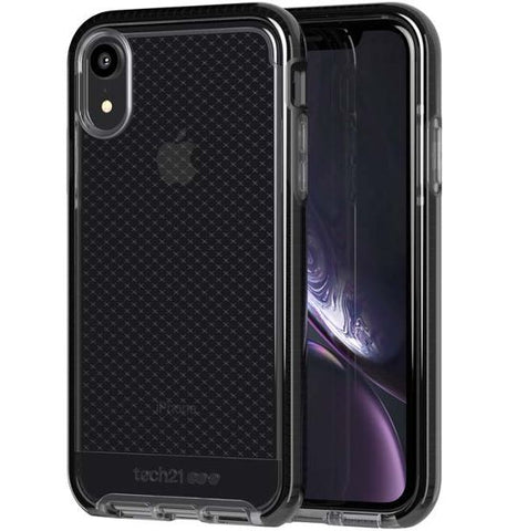 Tech21 Evo Check for iPhone XR - Smokey/Black