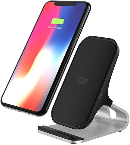 Candywirez Wireless Charger Stand - Black