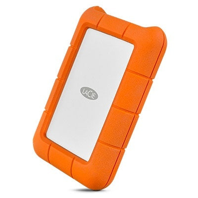 LaCie Rugged USB-C Mini Portable Hard Drive - 2TB