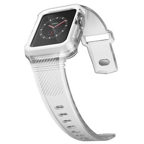 x-doria Rumble Band Apple Watch 38mm - Clear
