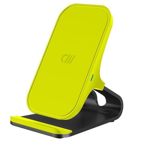 Candywirez Wireless Charger Stand - Neon Yellow