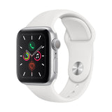 Apple Watch Series 5 GPS 40mm Plata - Correa Dep Blanca