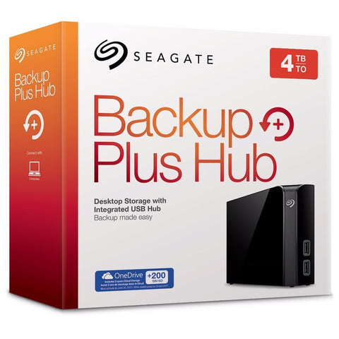 Seagate Backup Plus External HD - 4TB