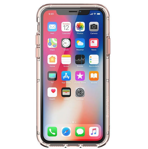 Survivor Clear for iPhone X - Rose Gold