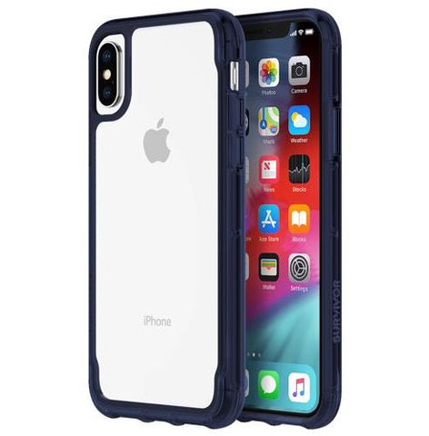 Griffin Survivor Clear iPhone X/XS - Clear/Iris