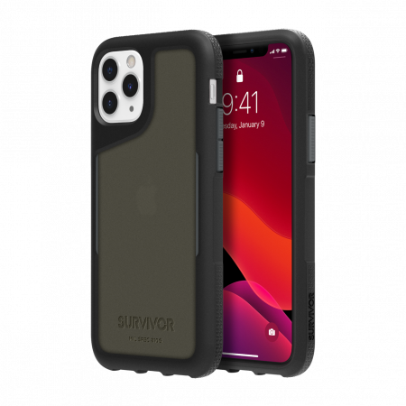 Griffin Survivor Endurance Case iPhone 11 Pro - Black/Gray/Smoke