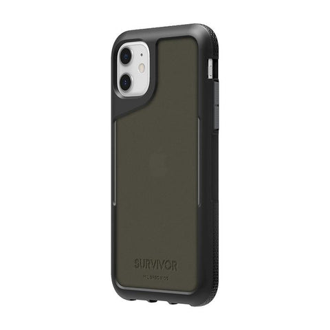 Griffin Survivor Endurance Case iPhone 11 - Black/Gray/Smoke