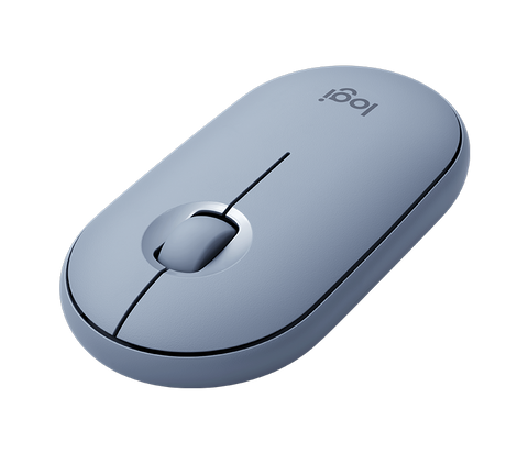 Mouse inalámbrico Logitech Pebble M350 - Blue