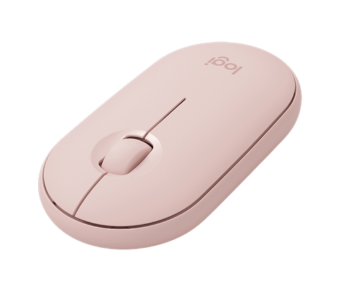 Mouse inalámbrico Logitech Pebble M350 - Pink