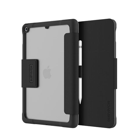 Griffin Survivor Tactical Case  iPad (7Gen) 10.2 - Negro