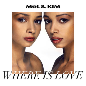Mel & Kim - 'Where Is Love' - Limited Collectors Edition Photo-book, inc 6 Track CD