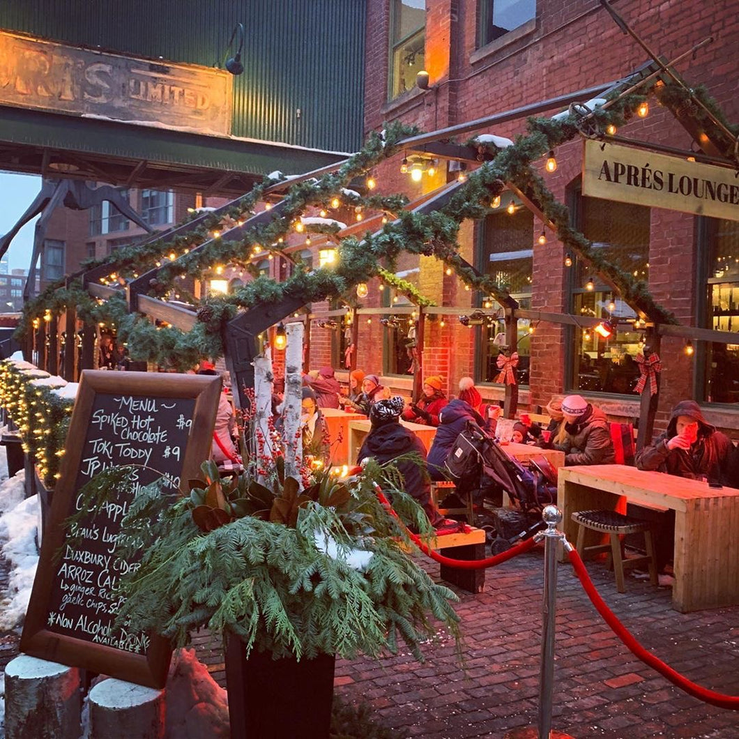 Après Lounge at the Toronto Christmas Market