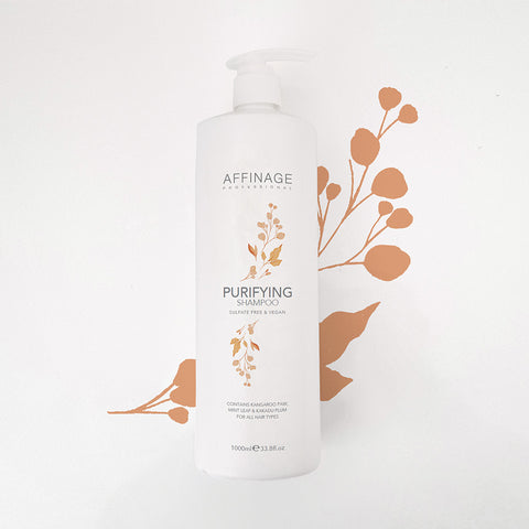 Affinage Professional Cleanse & Care Collection Purifying Shampoo