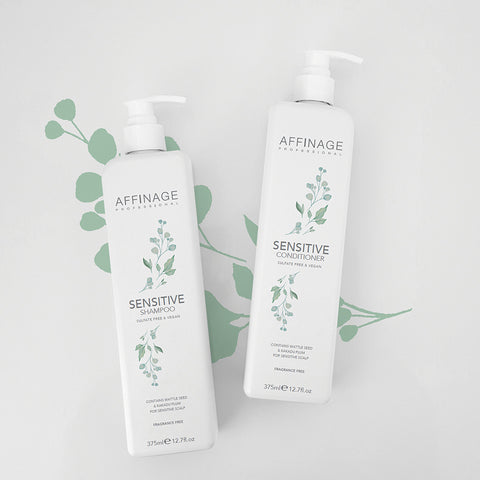 Affinage Professional Cleanse & Care Collection Sensitive Shampoo & Conditioner