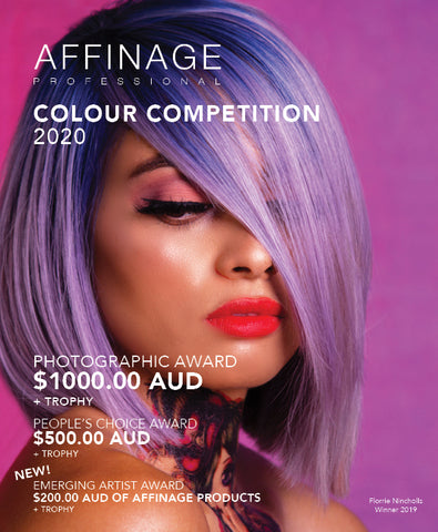 Affinage Professional Colour Competition 2020 Awards