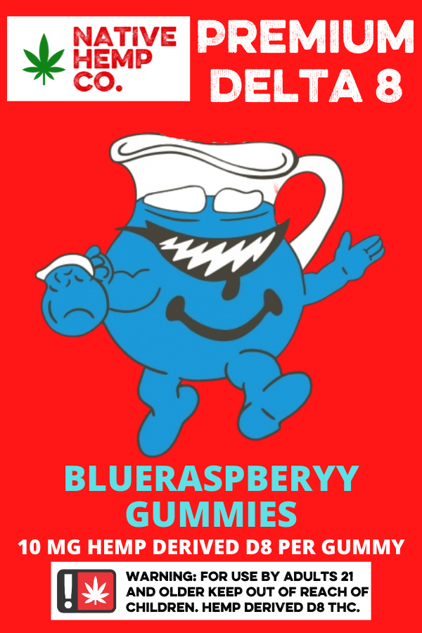 Blue Diamond D8 Gummies