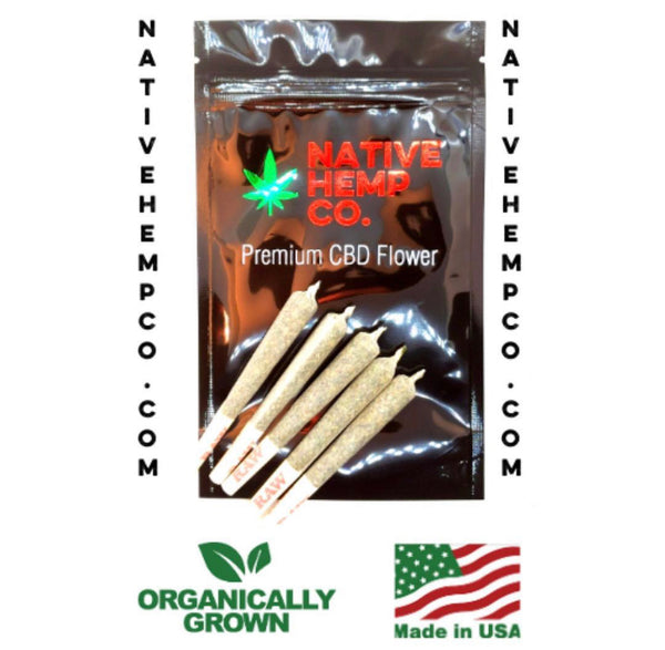 Premium Hemp Flower Pre-Roll 5 Pack